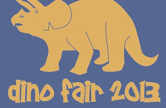 The 23rd Annual Dino Fair will be held Saturday