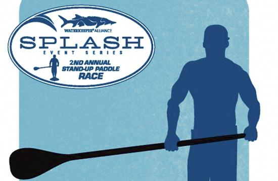 The Stand-Up for Clean Water 2nd Annual Paddleboard Race will be held Saturday