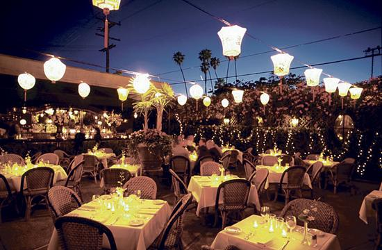 The Buffalo Club has an outside Garden Courtyard with a more relaxed open-air layout with a small plates menu.