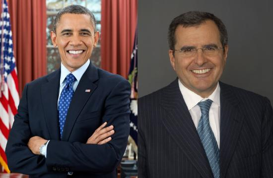 President Barack Obama will attend a luncheon fundraiser June 7 at the Santa Monica home of Peter Chernin.