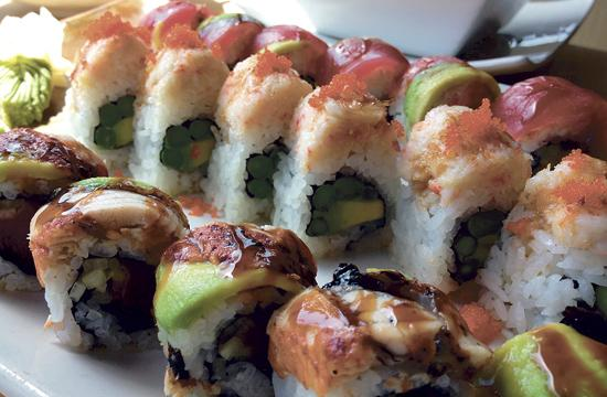 Bamboo Izakaya serves up a variety of sushi
