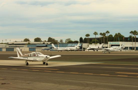 Pilots who land at Santa Monica Airport will soon have to pay $5.48 per 1
