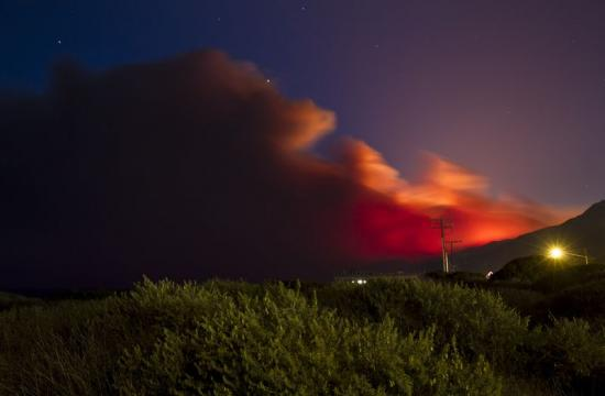 Cal Fire expects to have the Springs fire in Ventura County contained on Monday.