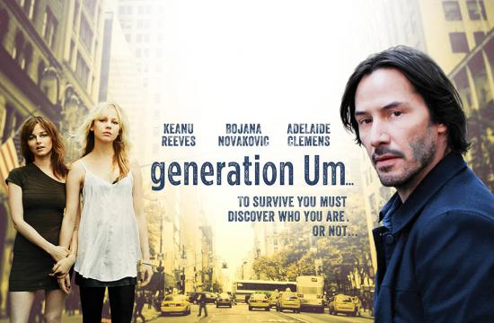 'Generation Um' opened May 3 in theaters. Keanu Reeves stars in the indie flick alongside Bojana Novakovic and Adelaide Clemens.