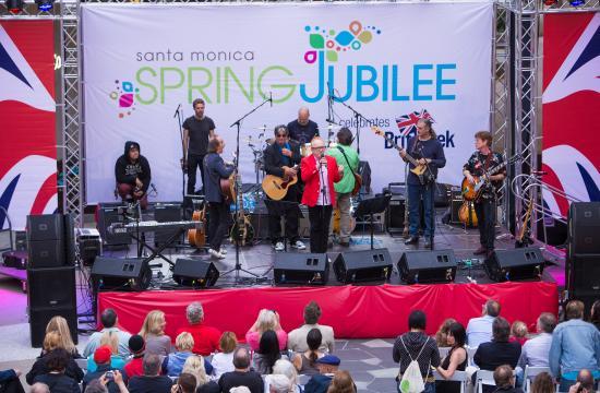 Santa Monica's 'Spring Jubilee Celebrates BritWeek' was held over the weekend on the Third Street Promenade and Santa Monica Place.