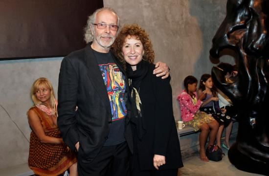 Herb Alpert and Singer Lani Hall-Alpert attend the opening reception on May 4 at Robert Berman Gallery in Santa Monica.