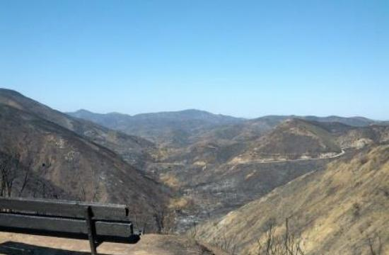 This overlook of Upper Sycamore Canyon