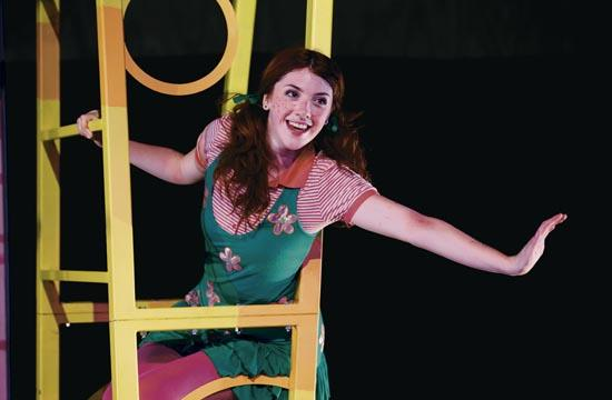 'Freckleface Strawberry' teaches lessons at Morgan-Wixson Theater in Santa Monica.