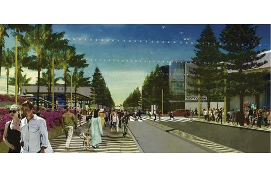 A rendering of the Colorado Esplanade project. Phase one was approved on Tuesday.