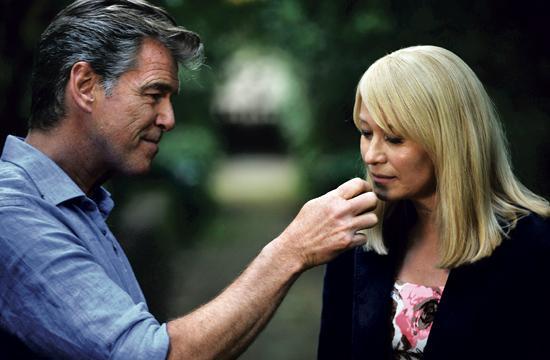 "Pierce Brosnan and Trine Dyrholm in Academy Award-winning director Susanne Bier's ""Love Is All You Need."""