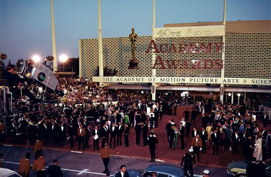 The Academy Awards were last held at the Santa Monica Civic Auditorium in 1968.