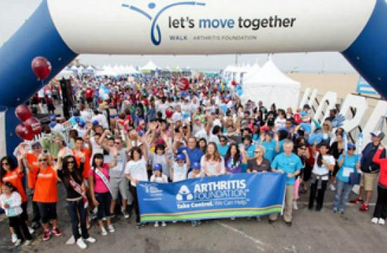 Sunday's Los Angeles Arthritis Walk will feature a Guinness World Record Attempt after it begins at the Santa Monica Pier.