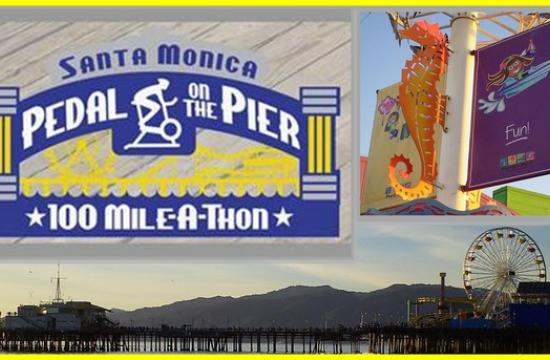 The annual Pedal on the Pier fundraiser will be held today