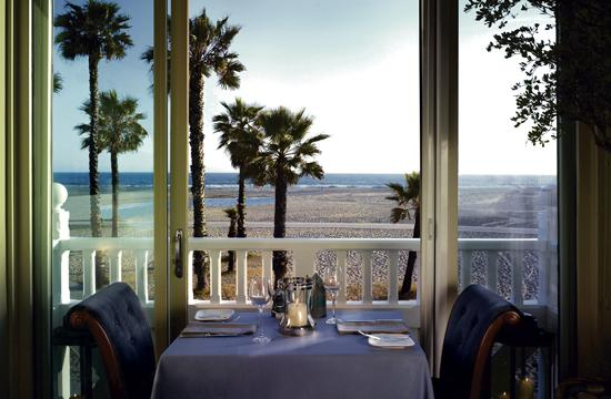 One Pico has unobstructed views of Santa Monica Beach from its location inside Shutters on the Beach.