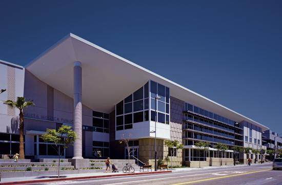 The Santa Monica Public Library at 601 Santa Monica Boulevard may soon charge $25 annually for non-residents to access library materials and services.