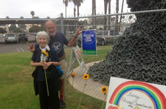 Jerry and Marissa Rubin celebrated the 30th anniversary of their 'Public Peace Wedding' on June 12.
