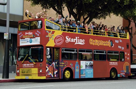 Starline Tours has launched a new route that travels from LAX to Santa Monica.