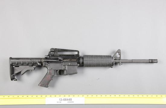 The rifle used by gunman John Zawahri was a .223 caliber assault rifle that consists of what is referred to an 80 percent lower