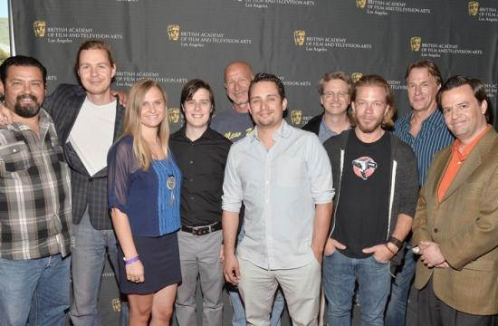The cast and crew of 'Solidarity' at the 10th Annual BAFTA Los Angeles Student Film Awards in Hollywood on June 20.
