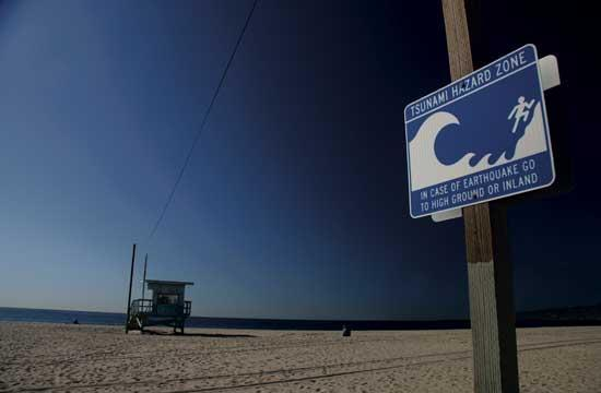 Santa Monica's tsunami awareness will be recognized at tonight's City Council meeting.