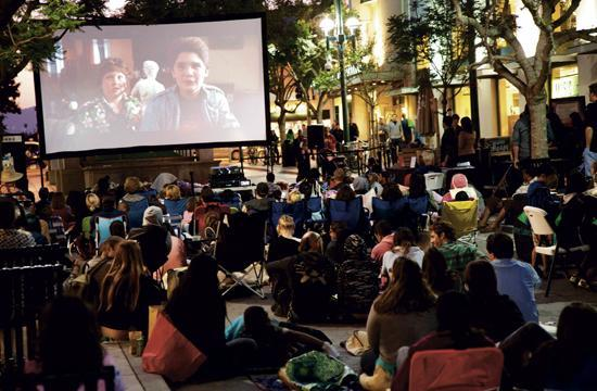 """Downtown Santa Monica will present its third annual """"Cinema on the Street"""" series starting July 12 with the screening of """"Back to the Future."""""""