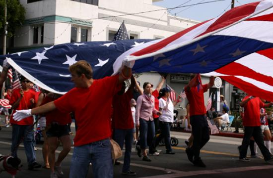 The First Annual Ocean Park Association 4th of July Parade was held in 2007 and continues to grow each year.