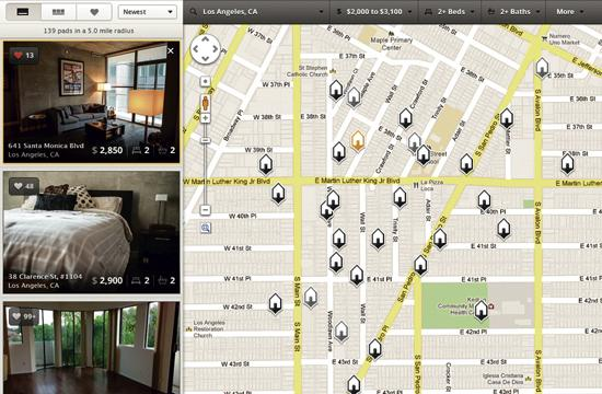 A new iPhone app and website called RadPad combines the best of Instagram and Craiglist functions to connect landlords and prospective renters across Santa Monica and Los Angeles.
