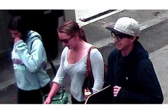 Santa Monica police want to speak with one male White/Hispanic aged late teens