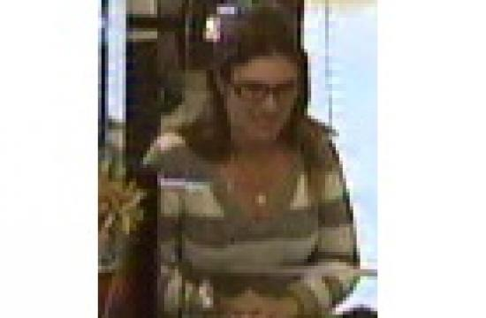 Santa Monica police want to speak with this white female