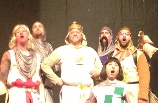 Santa Monica's Morgan-Wixson Theatre presents 'Spamalot.'