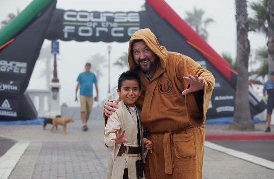 Course of the Force is an eight-day relay that will pass through Santa Monica this Friday.