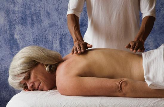 Massage can help people