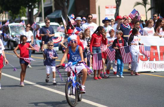 The seventh annual 4th of July Parade