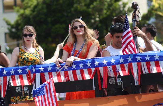 Highlights from Santa Monica's 2013 4th of July Parade.