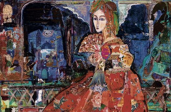 '1001-Stories' by Iranian-born artist Fariba Ameri will be on display at JNA Gallery.