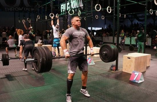 SMPD Sgt. Greg Smiley will compete in the upcoming CrossFit Games.