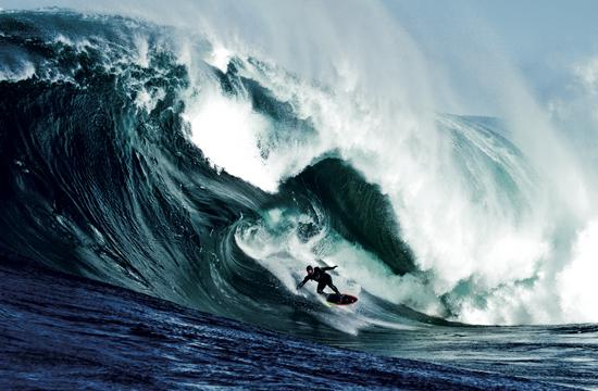 'Storm Surfers 3D' was filmed over four months at locations mainly based in Australia.
