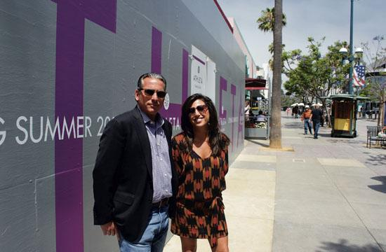 Robert Cohen and Rachel Rosenberg of real estate services firm RKF say some Third Street Promenade landlords are collecting rents that surpass $300 a square foot.