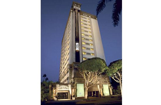 The Huntley Hotel is locked in a battle with the Fairmont Miramar.