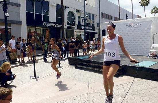 Experience free health and fitness fun this Saturday on the Third Street Promenade.