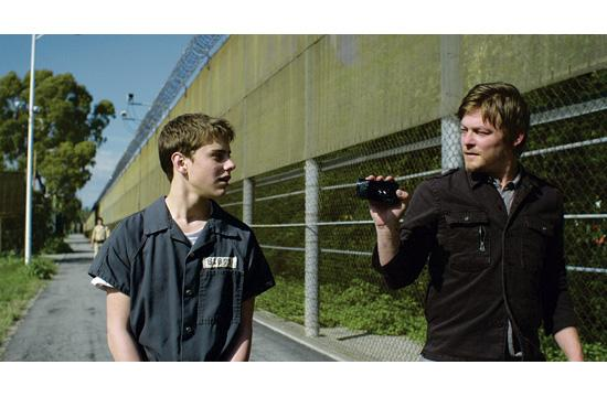 "Garrett Backstrom (left) and Norman Reedus (from AMC's ""The Walking Dead"") star in the independent film ""Hello Herman"