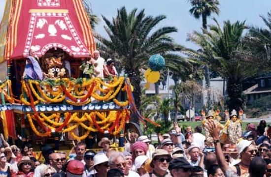 The 37th Annual Festival of the Chariots will be held this Sunday