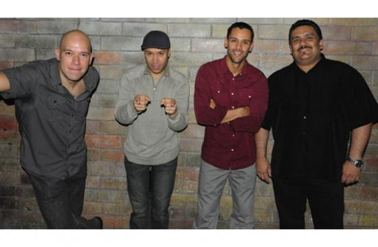 Latin jazz and salsa quartet Conganás will perform Sunday at this year's return of the Jazz on the Lawn concert series.