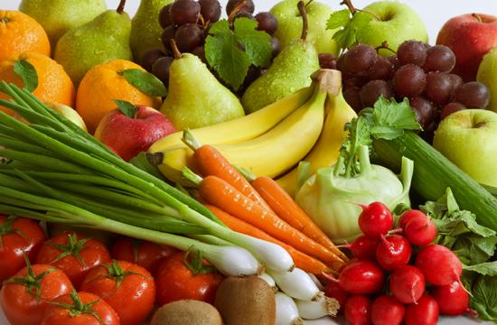 Colorful fruits and vegetables are full of antioxidants that protect you from disease.