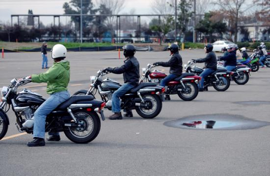 The SMPD encourages motorcycle riders to get training through the California Motorcyclist Safety Program.