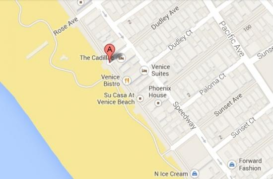 The deadly rampage began in the 100 block of Dudley Avenue before the suspect drove south on Ocean Front Walk.