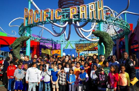 The 9th Annual PALpalooza was held at Pacific Park on the Santa Monica Pier on July 31.
