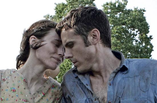 """Rooney Mara as Ruth and Casey Affleck as Bob in David Lowery's Western drama """"Ain't Them Bodies Saints."""""""
