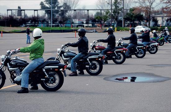 The Santa Monica Police Department encourages motorcycle riders to get training through the California Motorcyclist Safety Program.
