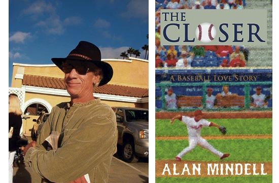 Alan Mindell (left) has published his first novel called 'The Closer.'